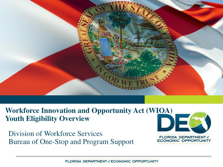 workforce innovation and opportunity act wioa youth eligibility overview n.