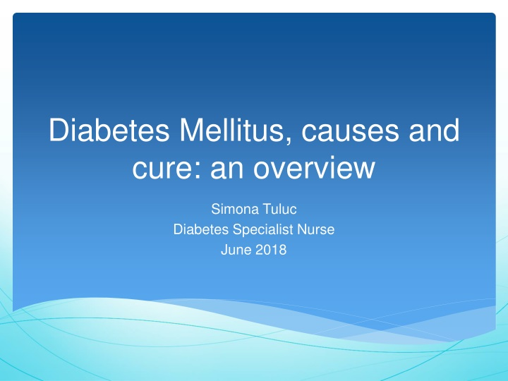diabetes mellitus causes and cure an overview n.