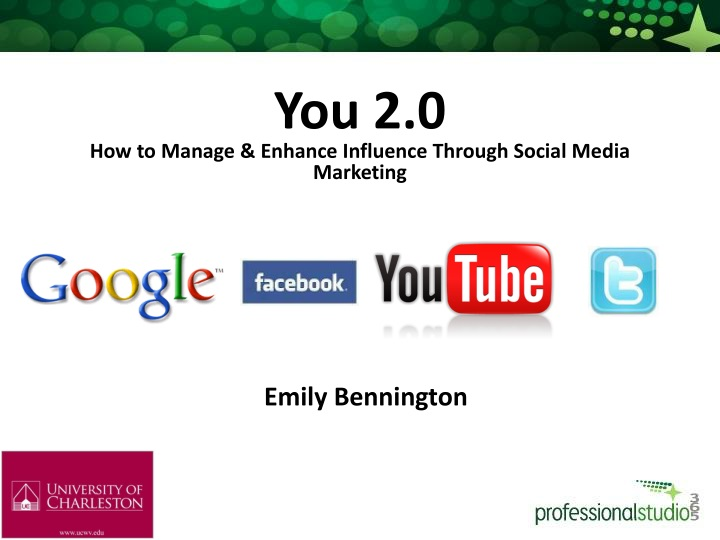 you 2 0 how to manage enhance influence through n.