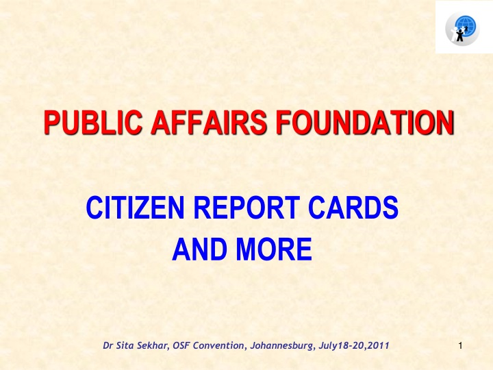 public affairs foundation n.