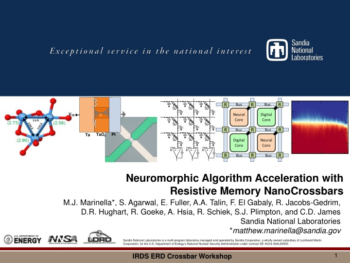 neuromorphic algorithm acceleration with n.