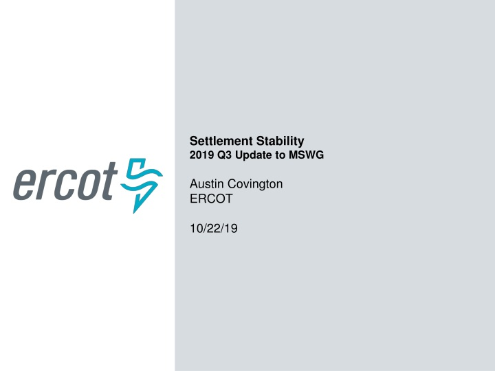 settlement stability 2019 q3 update to mswg n.