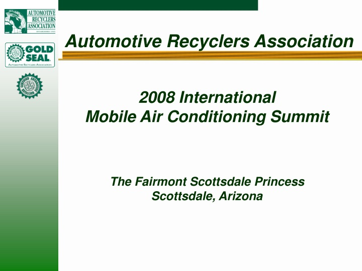 automotive recyclers association n.