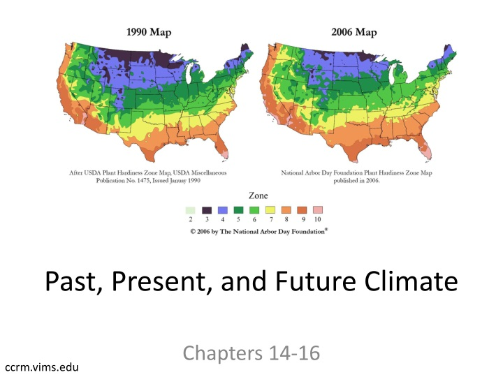 past present and future climate n.