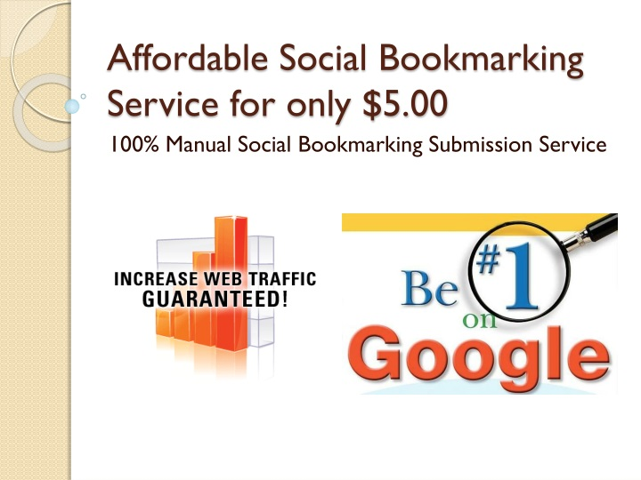 affordable social bookmarking service for only 5 00 n.
