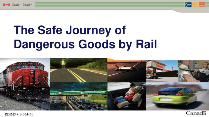 the safe journey of dangerous goods by rail n.