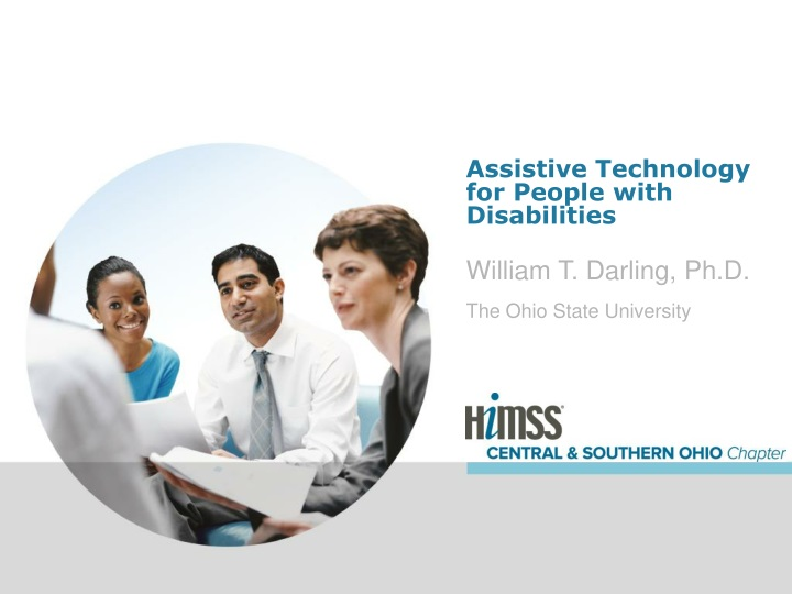 assistive technology for people with disabilities n.