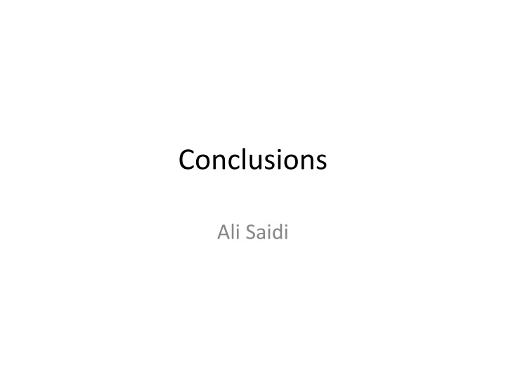 conclusions n.
