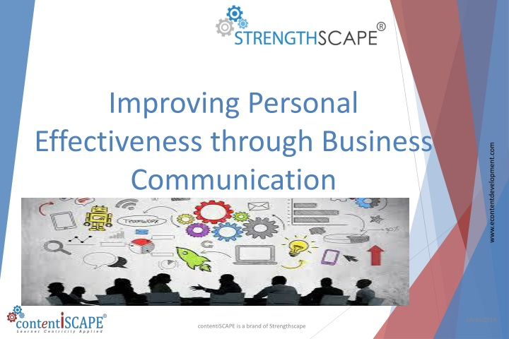 improving personal effectiveness through business communication n.
