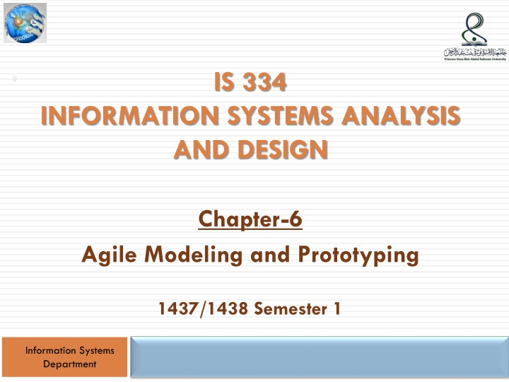 is 334 information systems analysis and design n.