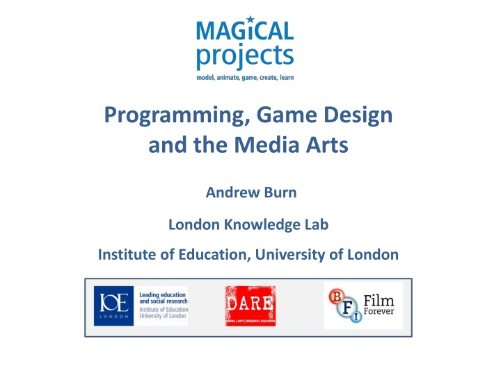 programming game design and the media arts andrew n.