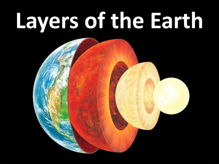 layers of the earth n.