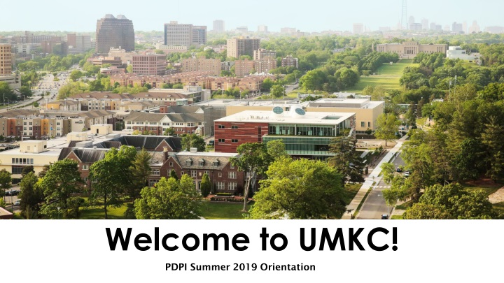 welcome to umkc n.