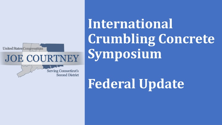 international crumbling concrete symposium federal update n.