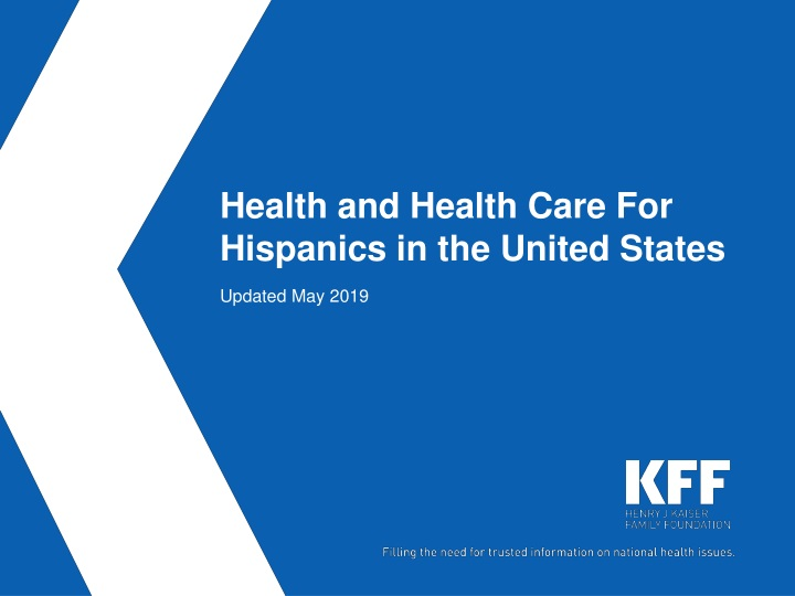 health and health care for hispanics in the united states n.