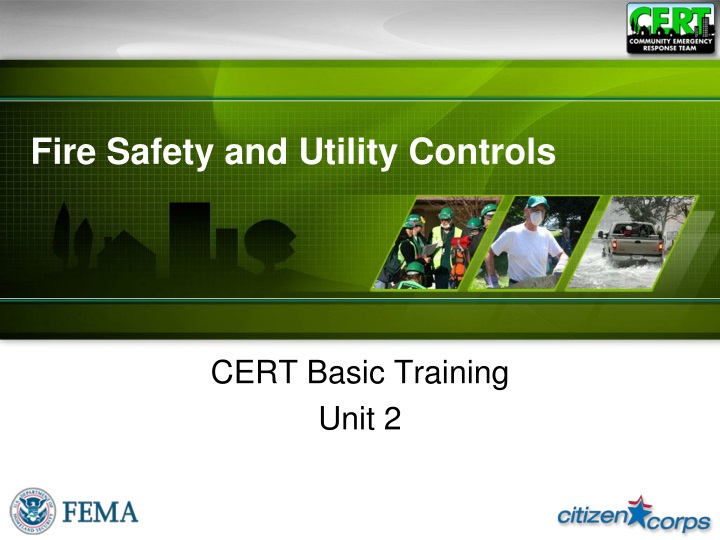 fire safety and utility controls n.