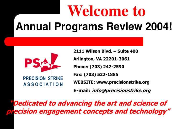 welcome to annual programs review 2004 n.