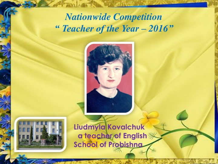 nationwide competition teacher of the year 201 6 n.