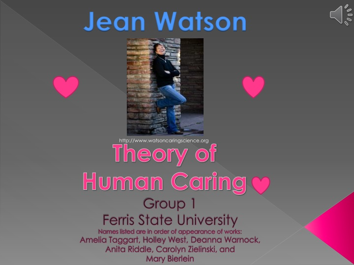 theory of human caring n.