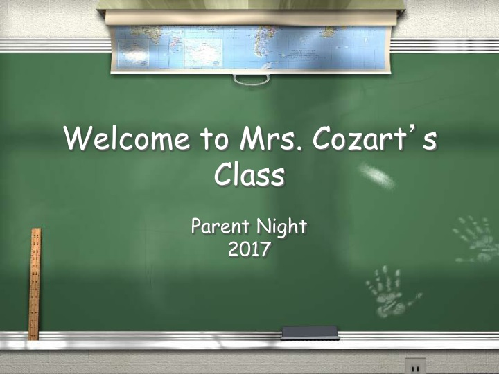 welcome to mrs cozart s class n.