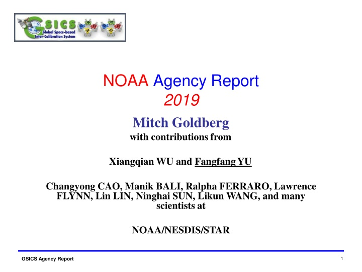 noaa agency report 201 9 n.
