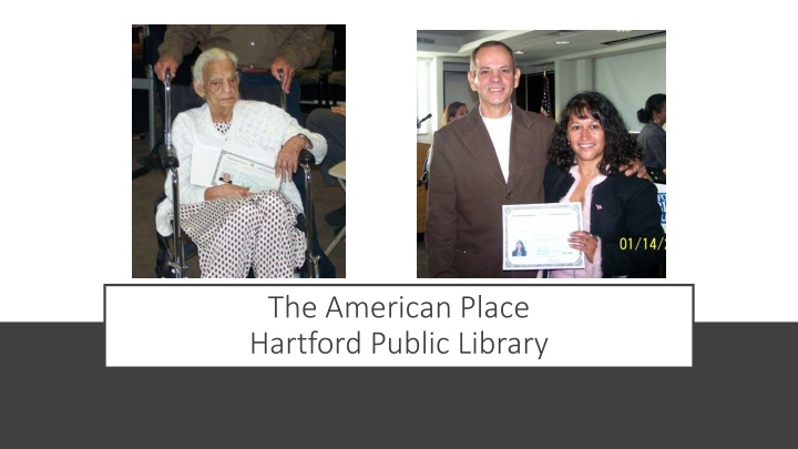 the american place hartford public library n.