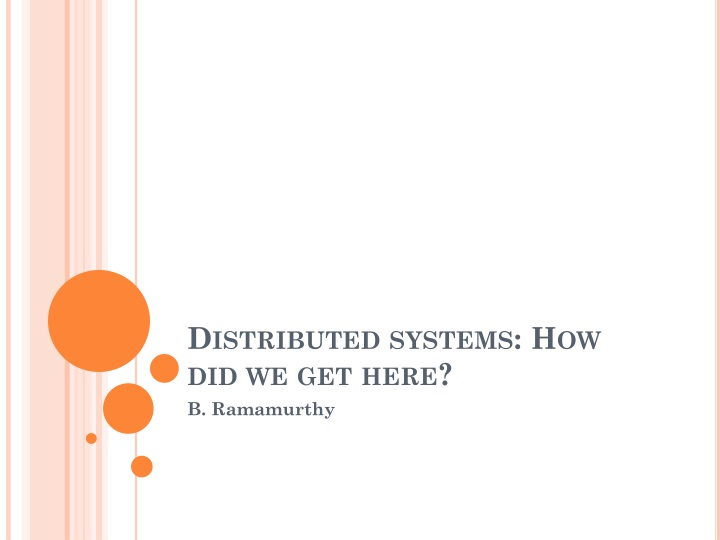 distributed systems how did we get here n.