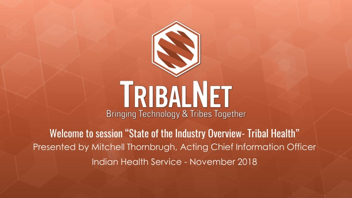 welcome to session state of the industry overview n.
