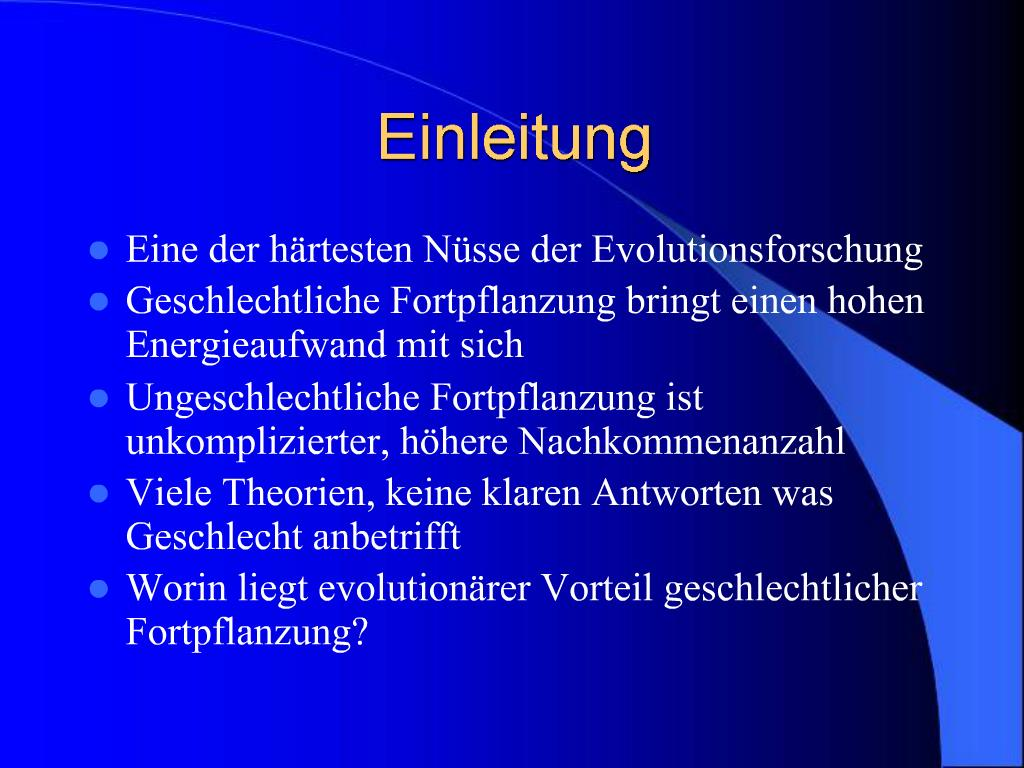 Asexuelle was fortpflanzung ist ASEXUELLE FORTPFLANZUNG: