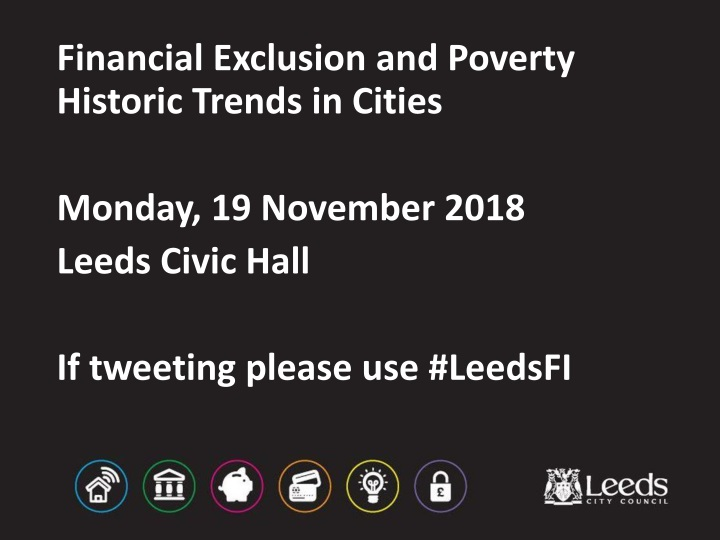 financial exclusion and poverty historic trends in cities n.