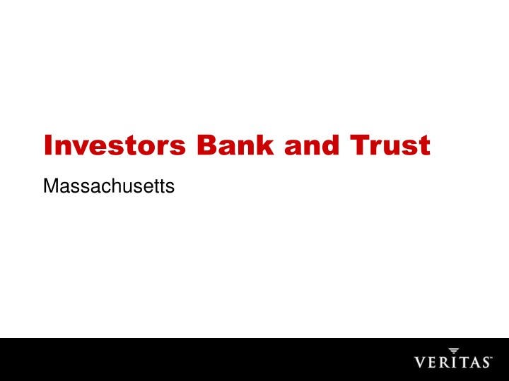 investors bank and trust n.