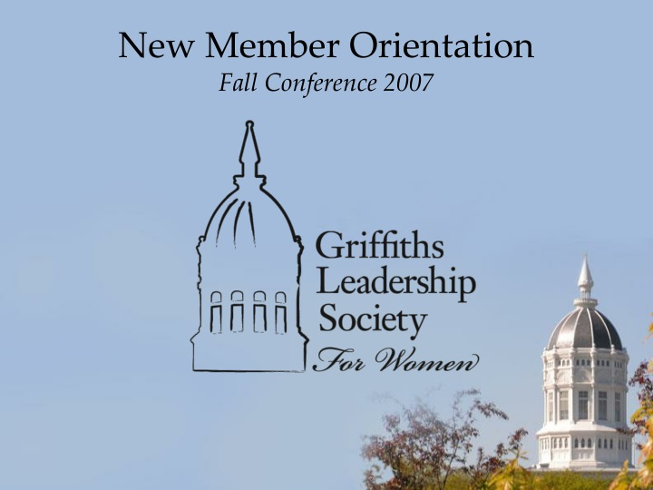 new member orientation fall conference 2007 n.