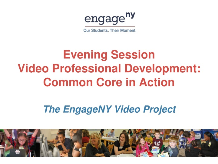 evening session video professional development common core in action n.