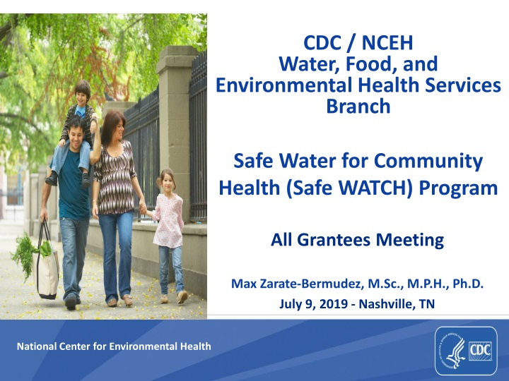 cdc nceh water food and environmental health services branch n.