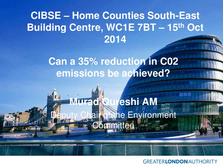 cibse home counties south east building centre wc1e 7bt 15 th oct 2014 n.