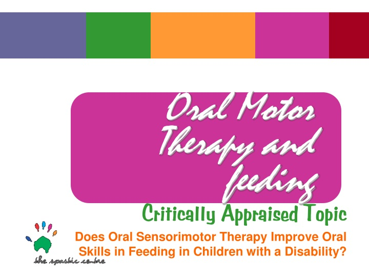 oral motor therapy and feeding n.