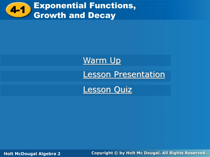 exponential functions growth and decay n.