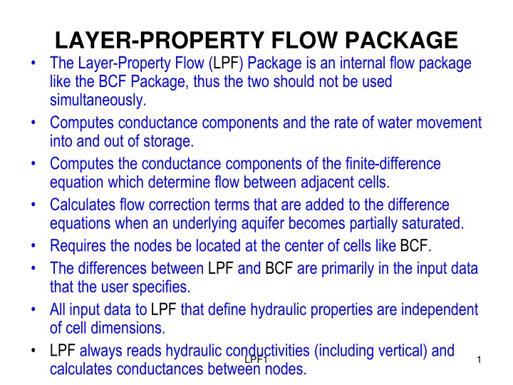 layer property flow package n.