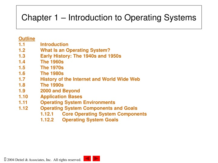 chapter 1 introduction to operating systems n.