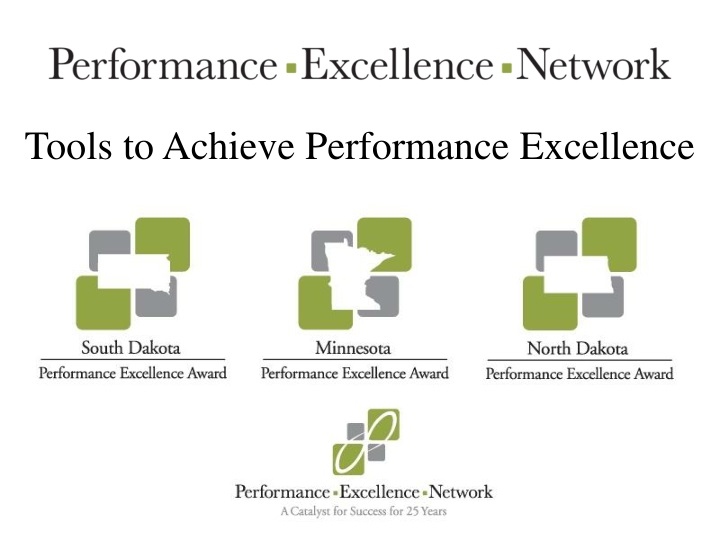 tools to achieve performance excellence n.