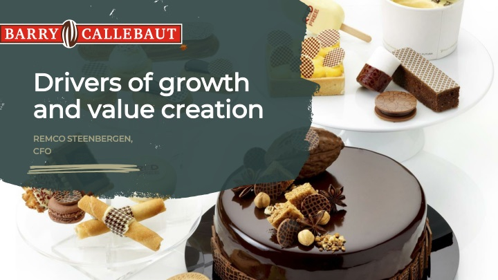 drivers of growth and value creation n.