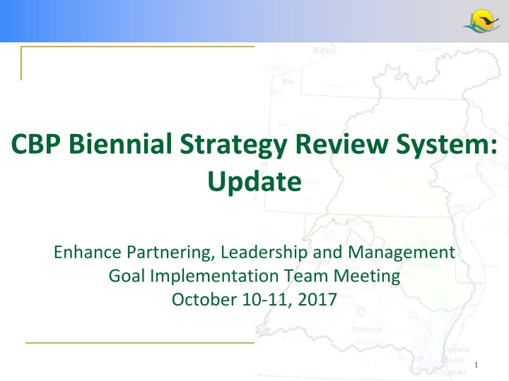 cbp biennial strategy review system update n.