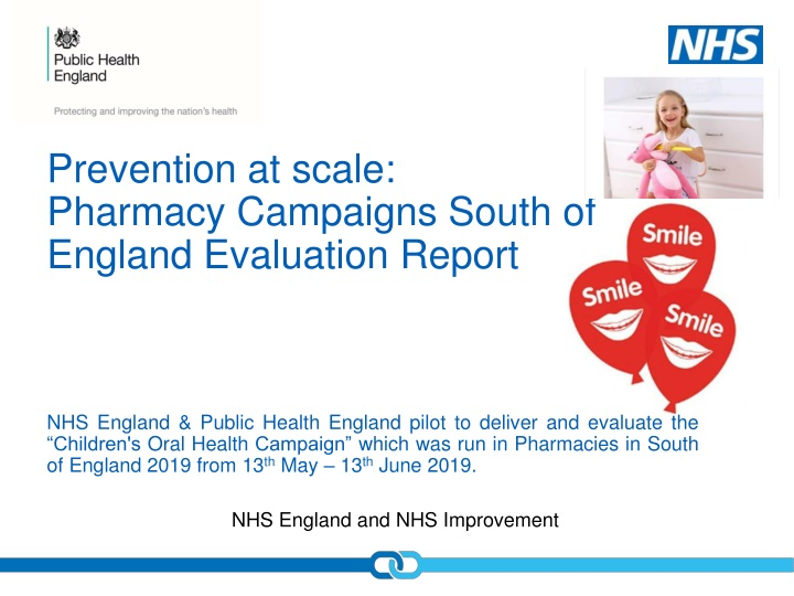 prevention at scale pharmacy campaigns south of england evaluation report n.