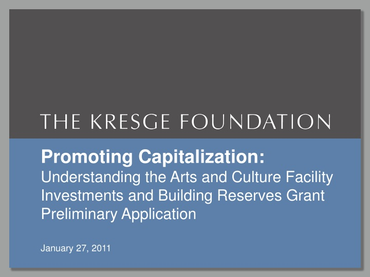 promoting capitalization understanding the arts n.