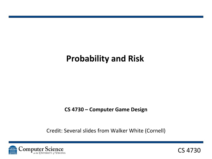 probability and risk n.
