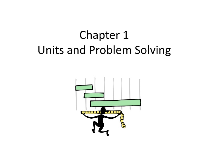chapter 1 units and problem solving n.