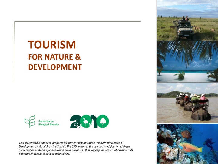 tourism for nature development n.