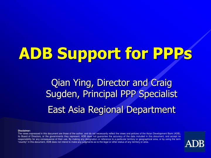 adb support for ppps n.