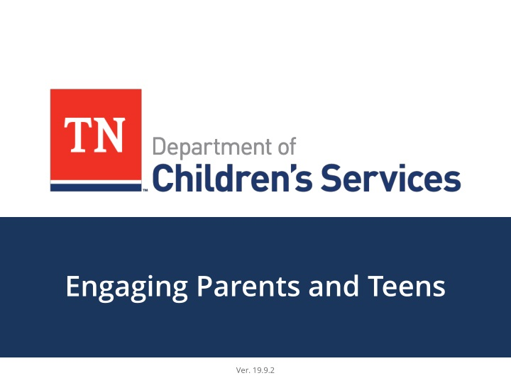engaging parents and teens n.