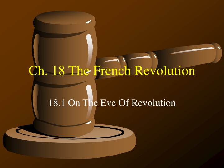ch 18 the french revolution n.